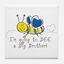 Bee Big Brother Tile Coaster