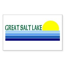 Great Salt Lake Rectangle Decal