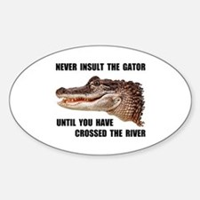 GATOR Oval Decal