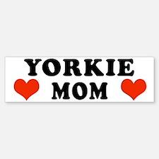 Yorkie Mom Bumper Bumper Bumper Sticker