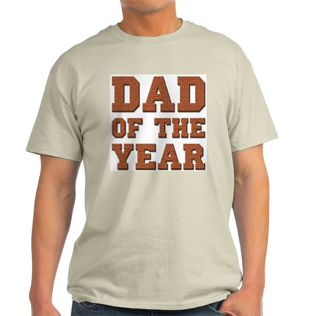 Dad of the Year Ash Grey T-Shirt