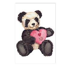 I Heart U Panda Postcards (Package of 8)