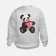 I Heart U Panda Sweatshirt