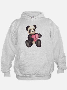 I Heart U Panda Hoodie