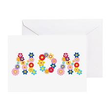 Flower Mom Greeting Card