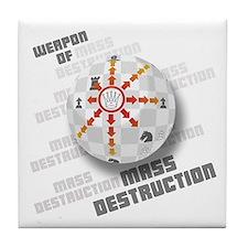 The Queen - Weapon of Mass Destruction Tile Coaste