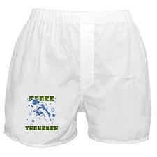 Blue Astronaut Boxer Shorts