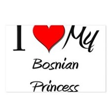 I Love My Bosnian Princess Postcards (Package of 8