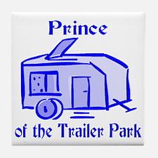 Prince of Trailer Park Tile Coaster
