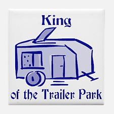 King of Trailer Park Tile Coaster