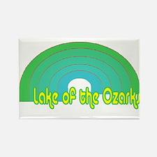 Lake of the Ozarks Rectangle Magnet