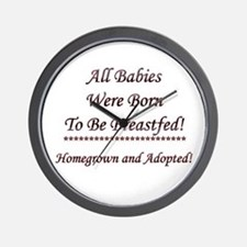 Adoptive Breastfeeding Wall Clock