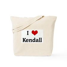 I Love Kendall Tote Bag