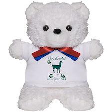 Llama & Shamrocks Teddy Bear