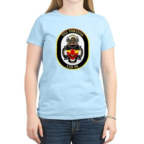 USS Tortuga LSD 46 Women's Light T-Shirt