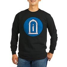 A&S Officer Long Sleeve Dark T-Shirt