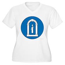 A&S Officer Women's Plus Size V-Neck T-Shirt