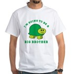 I'm Going To Be A Big Brother White T-Shirt