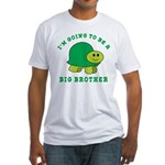 I'm Going To Be A Big Brother Fitted T-Shirt