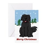 Newfie cards Greeting Cards (20 Pack)