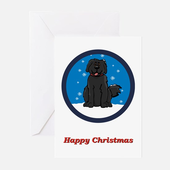 Newfie Christmas Card (Rd) (Pk of 20)
