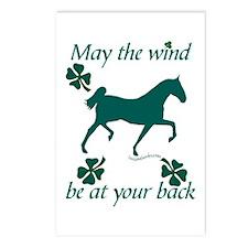 Saddlebred and Shamrocks Postcards (Package of 8)