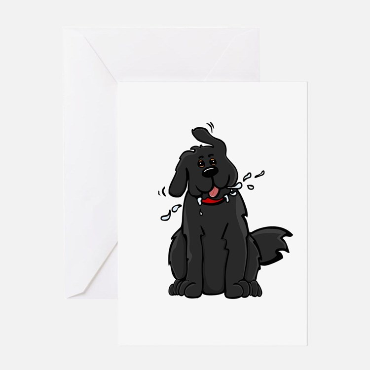 Newfie - Sl1 - Greeting Card