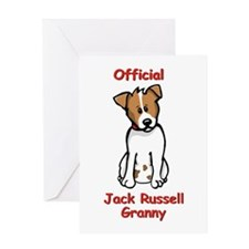 JR Granny Greeting Card