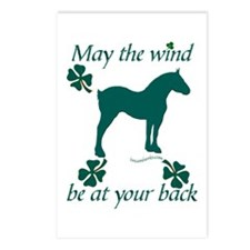 Draft Horse and Shamrocks Postcards (Package of 8)