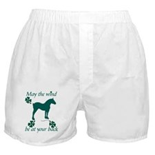 Draft Horse and Shamrocks Boxer Shorts