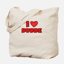 I heart Bubbe Tote Bag