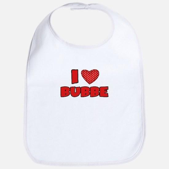 I heart Bubbe Bib