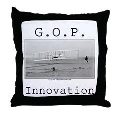 Innovation Throw Pillow