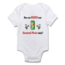 Sheetmetal Worker Infant Bodysuit