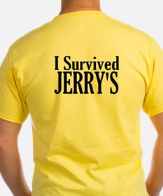 Optimum Health Yellow Survivor T-Shirt