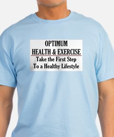 Optimum Health Light Men's T-Shirt