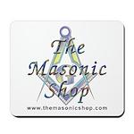 The Masonic Shop Logo Mousepad