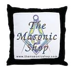 The Masonic Shop Logo Throw Pillow