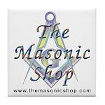 The Masonic Shop Logo Tile Coaster