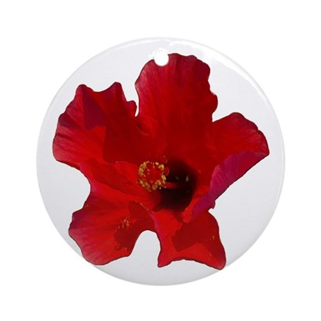 beautiful flower Ornament (Round)