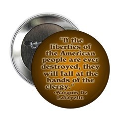 Historical Quote on Liberty Button