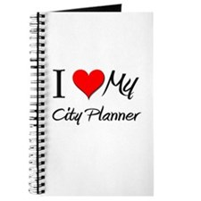 I Heart My City Planner Journal