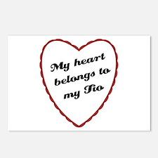 My Heart Belongs to My Tio Postcards (Package of 8
