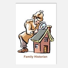 Family Historian Postcards (Package of 8)