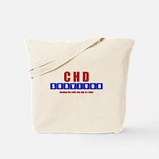 CHD SURVIVOR Tote Bag