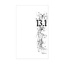 13.1 Grunge Rectangle Decal