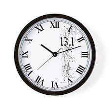 13.1 Grunge Wall Clock