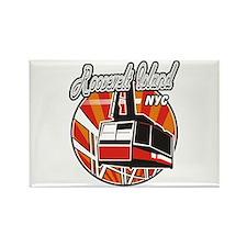 Roosevelt Island Tram Logo Rectangle Magnet