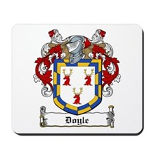 Doyle Family Crest Mousepad