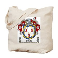 Doyle Family Crest Tote Bag